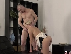 Blonde seduces young brunette She is so spectacular in this short