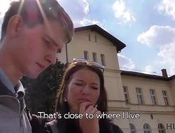 HUNT4K. Hot fucking for money in the capital of Czech Republic