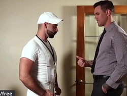 Menxxx  - (Beau Reed, Teddy Torres) - Supervisor Part 1 - The Gay Office - Trailer preview