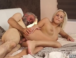 Old man creampie Surprise your gf plus she will fuck with your dad