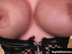 Busty Brit Sophie Dee Is Pussy Pounded &amp_ Jizzed On Her Face!