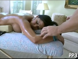 Lovely hottie is getting ecstatic delight from deep drilling