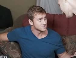 Men.com - Connor Maguire and Jacob Peterson - Getting A Vj - Str8 to Gay - Trailer preview
