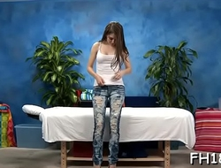 Gorgeous eighteen year old hungarian princess gets fucked hard by her massagist