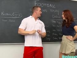 Teacher Fucks Teen Schoolchick