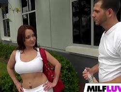 Massive Booty Broad in the beam Boobs Latina MILF Vanessa