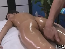 Marvelous 18 year old hungarian princess gets drilled hard by her massage therapist
