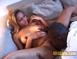 Sexy First Time With a Big Black Cock