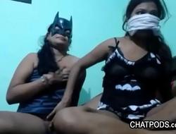 Indulgent Desi Lesbian Courtesan