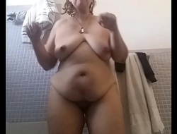 Danyza after shower