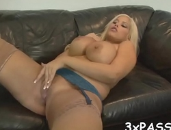 This brat white slut loves performing rodeo on blackguardly knobs