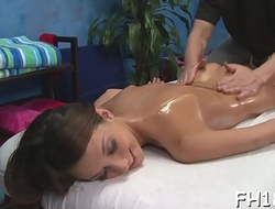 Sexy 18 year old hotty gets fucked hard by her massage therapist!