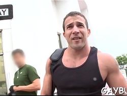 Muscular hunk gives impenetrable depths anal fuck for beautiful nellie