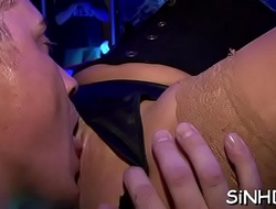 Agreeable babes are sharing their flavourful fuck holes