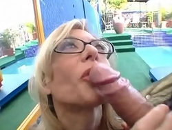 FuckBunker.com nina hartley milf fucks young man