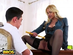 BANGBROS - Juan El Caballo Loco Is Hot For His Music Teacher, Sarah Vandella