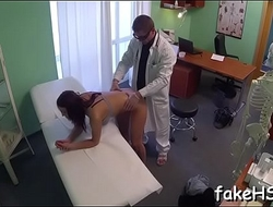 Wicked doctor is enjoying the stunning sex to the max