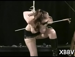Amateur gets pussy ravished during breast thraldom xxx