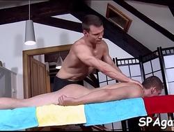 Homo gives wonderful blowjob for lickerish stud