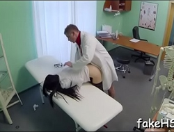 Soaked slit be worthwhile for a seductive doctor gets annihilated mercilessly