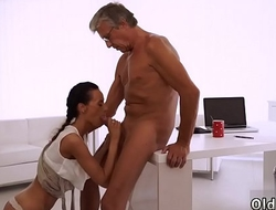 Strip down and fuck old granny with big boobs Finally she'_s got her