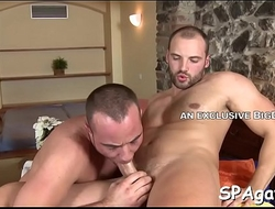 Deep anal drubbing with cute gay lad and hunk