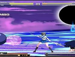 kuromaru plus VS Dengeki Bunko Fighting Climax 01 Hentai Mugen