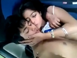 Cute baby sex in car