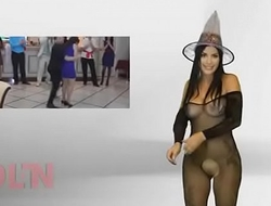 Karen Aguilar desnudandoce para sus seguidores