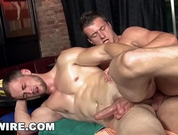GAYWIRE - Ivo and Samuel Engage In Homosexual Activity After Erotic Massage
