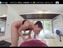 BaDoink VR Kitana Seduces And Fucks You In The Gym VR Porn