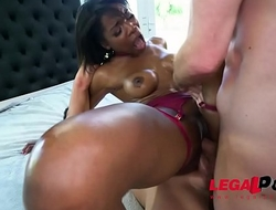 Slutty Mya Mays Takes All She Can with Wild Double Penetration