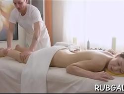Massage messy cleft