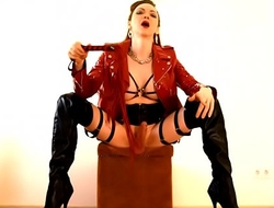 Mistress Shemale Katerina dominates with her strong dick