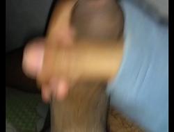 Mostrando o pau 18cm