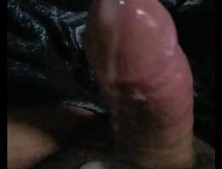 Stroking my cock till I cum