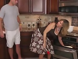 StepMom Fucked Doggy in Scullery