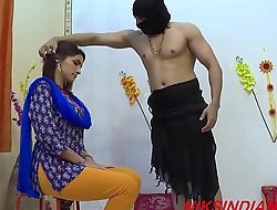 Rough sexual congress with indian housewife thither the ashram