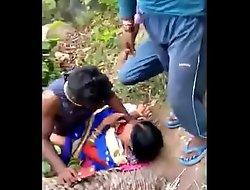 Desi indian Randi outdore group sex