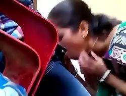 Indian mom sucking his son bushwa caught in place off ricochet boundary camera