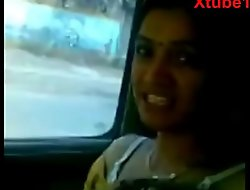 Indian Desi Bhabi Screwed roughly car full Sexual congress Video