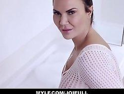 Your Obese Tits MILF Stepmom Jasmine Jae Orgasms With You In The Bath Tub JOI POV