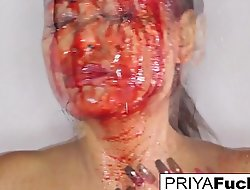 Halloween hit man tease with Priya Rai