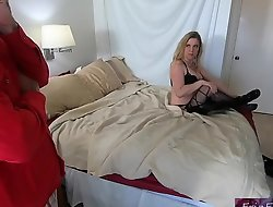 Stepmom shares confines with horny stepson plus gets fucked