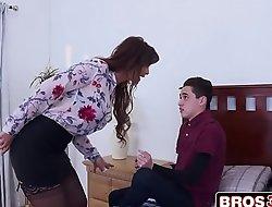 Juan Fucking His Stepmom's porn video  Ass To Avoid Punishment - Syren De Mer