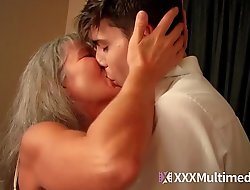 Old step mommy bonks young son - leilani lei
