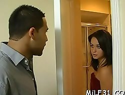 Naughty playgirl is delighting guy with say no to magical mouth