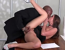 Felonious - Thumbnail Caprice get fucked first time outsider a  black beamy cock
