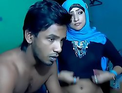 Newly Married South Indian Couple with Ultra Sexy Babe in arms WebCam Show (7)