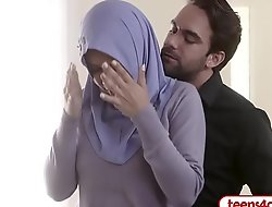 FBI officer fucks curvy Arab join in matrimony right in the ass